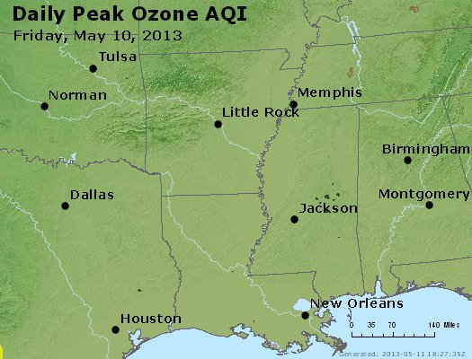 Peak Ozone (8-hour) - https://files.airnowtech.org/airnow/2013/20130510/peak_o3_ar_la_ms.jpg