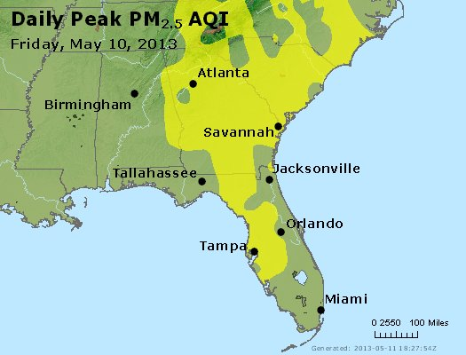 Peak Particles PM2.5 (24-hour) - https://files.airnowtech.org/airnow/2013/20130510/peak_pm25_al_ga_fl.jpg