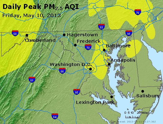 Peak Particles PM2.5 (24-hour) - https://files.airnowtech.org/airnow/2013/20130510/peak_pm25_maryland.jpg
