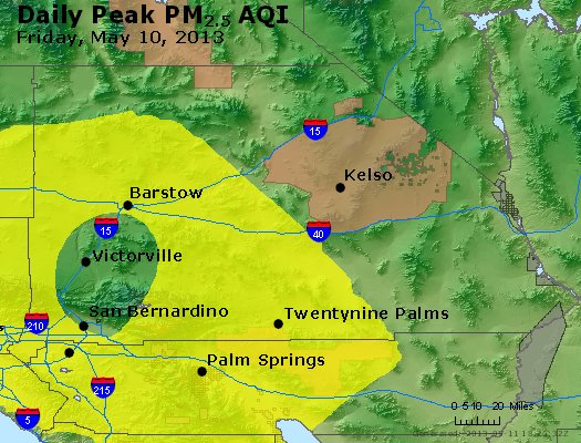 Peak Particles PM<sub>2.5</sub> (24-hour) - https://files.airnowtech.org/airnow/2013/20130510/peak_pm25_sanbernardino_ca.jpg