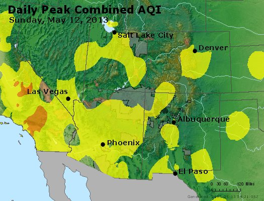 Peak AQI - https://files.airnowtech.org/airnow/2013/20130512/peak_aqi_co_ut_az_nm.jpg