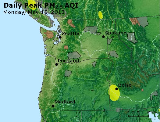 Peak Particles PM2.5 (24-hour) - https://files.airnowtech.org/airnow/2013/20130513/peak_pm25_wa_or.jpg