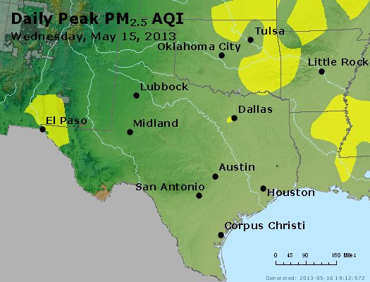 Peak Particles PM2.5 (24-hour) - https://files.airnowtech.org/airnow/2013/20130515/peak_pm25_tx_ok.jpg