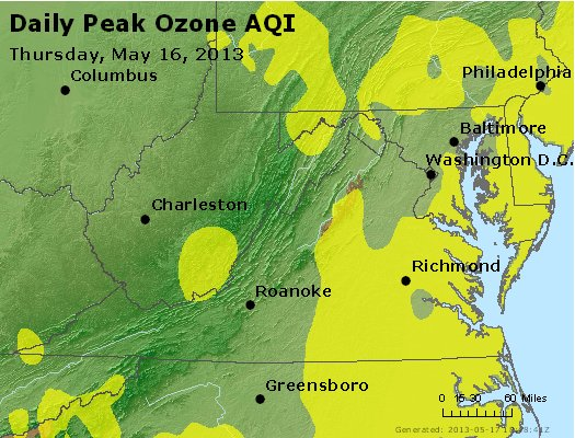 Peak Ozone (8-hour) - https://files.airnowtech.org/airnow/2013/20130516/peak_o3_va_wv_md_de_dc.jpg