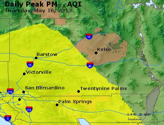 Peak Particles PM<sub>2.5</sub> (24-hour) - https://files.airnowtech.org/airnow/2013/20130516/peak_pm25_sanbernardino_ca.jpg