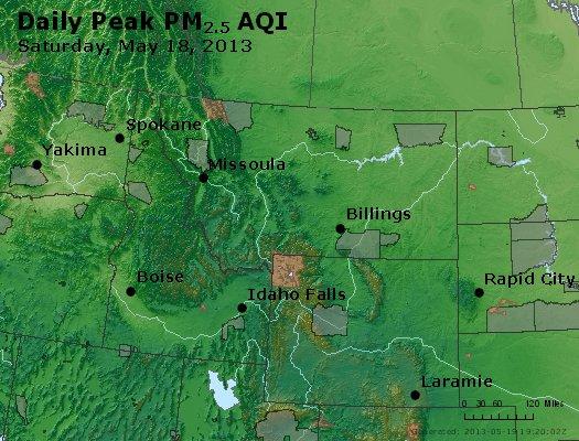 Peak Particles PM2.5 (24-hour) - https://files.airnowtech.org/airnow/2013/20130518/peak_pm25_mt_id_wy.jpg