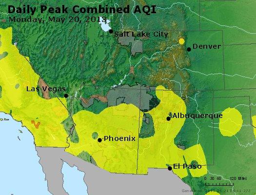 Peak AQI - https://files.airnowtech.org/airnow/2013/20130520/peak_aqi_co_ut_az_nm.jpg