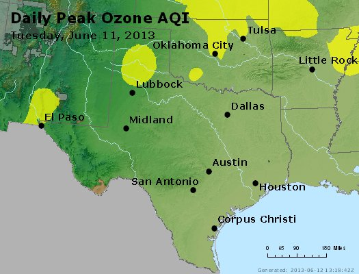 Peak Ozone (8-hour) - https://files.airnowtech.org/airnow/2013/20130611/peak_o3_tx_ok.jpg