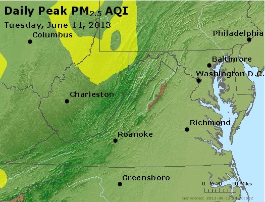 Peak Particles PM2.5 (24-hour) - https://files.airnowtech.org/airnow/2013/20130611/peak_pm25_va_wv_md_de_dc.jpg