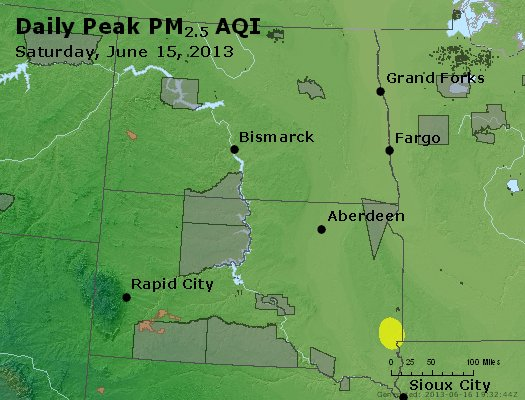 Peak Particles PM2.5 (24-hour) - https://files.airnowtech.org/airnow/2013/20130615/peak_pm25_nd_sd.jpg