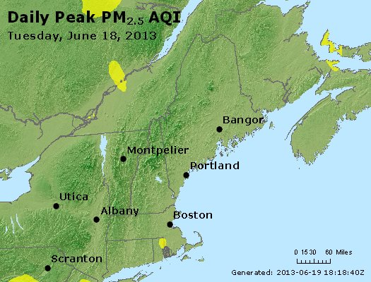 Peak Particles PM<sub>2.5</sub> (24-hour) - https://files.airnowtech.org/airnow/2013/20130618/peak_pm25_vt_nh_ma_ct_ri_me.jpg