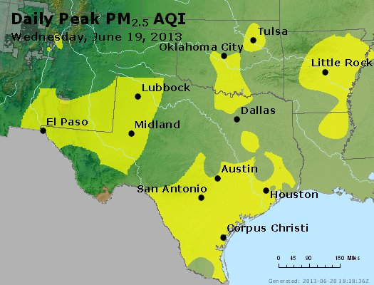 Peak Particles PM2.5 (24-hour) - https://files.airnowtech.org/airnow/2013/20130619/peak_pm25_tx_ok.jpg