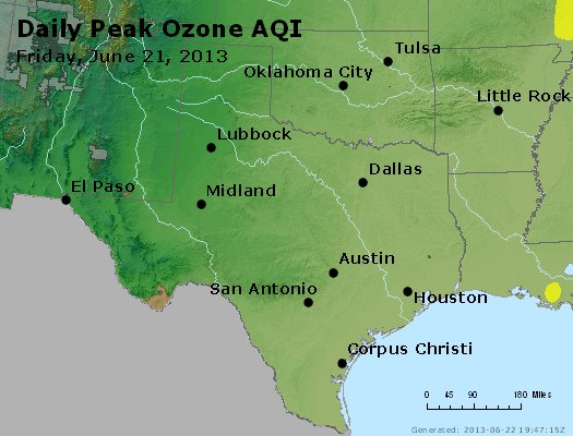 Peak Ozone (8-hour) - https://files.airnowtech.org/airnow/2013/20130621/peak_o3_tx_ok.jpg