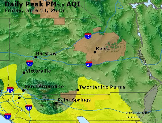 Peak Particles PM<sub>2.5</sub> (24-hour) - https://files.airnowtech.org/airnow/2013/20130621/peak_pm25_sanbernardino_ca.jpg