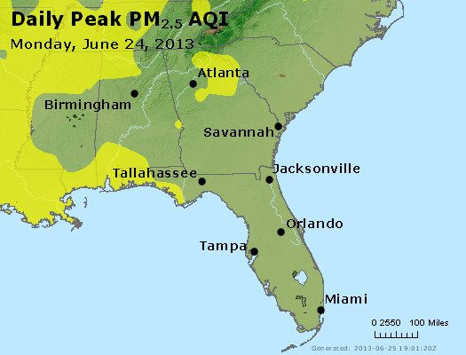 Peak Particles PM2.5 (24-hour) - https://files.airnowtech.org/airnow/2013/20130624/peak_pm25_al_ga_fl.jpg