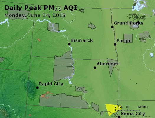 Peak Particles PM2.5 (24-hour) - https://files.airnowtech.org/airnow/2013/20130624/peak_pm25_nd_sd.jpg