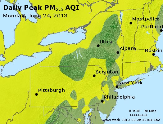 Peak Particles PM<sub>2.5</sub> (24-hour) - https://files.airnowtech.org/airnow/2013/20130624/peak_pm25_ny_pa_nj.jpg