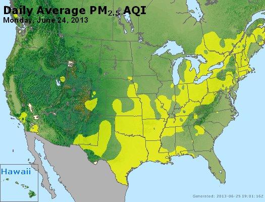 Peak Particles PM2.5 (24-hour) - https://files.airnowtech.org/airnow/2013/20130624/peak_pm25_usa.jpg