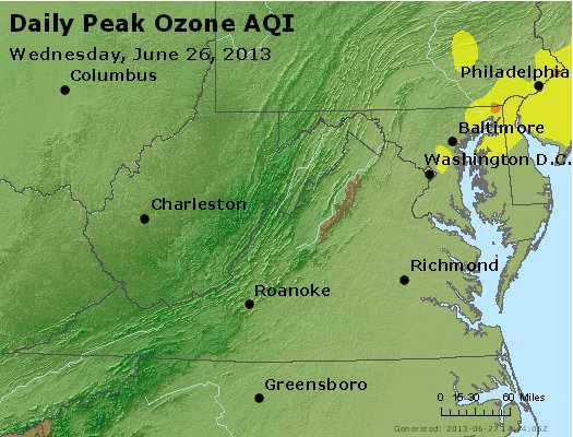 Peak Ozone (8-hour) - https://files.airnowtech.org/airnow/2013/20130626/peak_o3_va_wv_md_de_dc.jpg