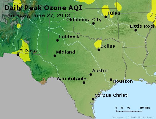 Peak Ozone (8-hour) - https://files.airnowtech.org/airnow/2013/20130627/peak_o3_tx_ok.jpg