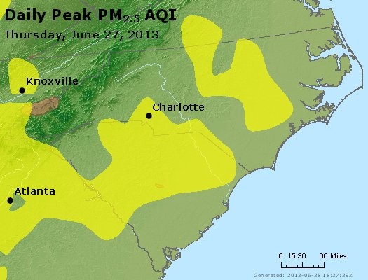 Peak Particles PM2.5 (24-hour) - https://files.airnowtech.org/airnow/2013/20130627/peak_pm25_nc_sc.jpg