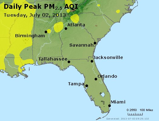 Peak Particles PM2.5 (24-hour) - https://files.airnowtech.org/airnow/2013/20130702/peak_pm25_al_ga_fl.jpg