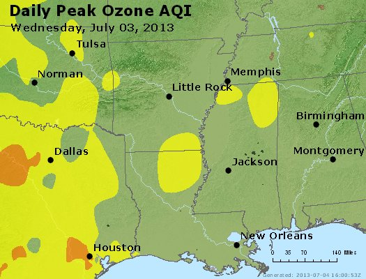 Peak Ozone (8-hour) - https://files.airnowtech.org/airnow/2013/20130703/peak_o3_ar_la_ms.jpg