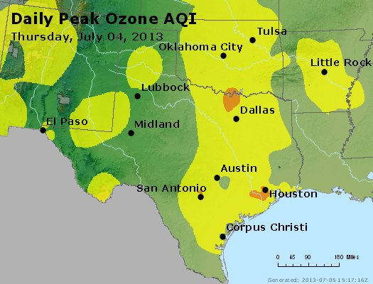 Peak Ozone (8-hour) - https://files.airnowtech.org/airnow/2013/20130704/peak_o3_tx_ok.jpg