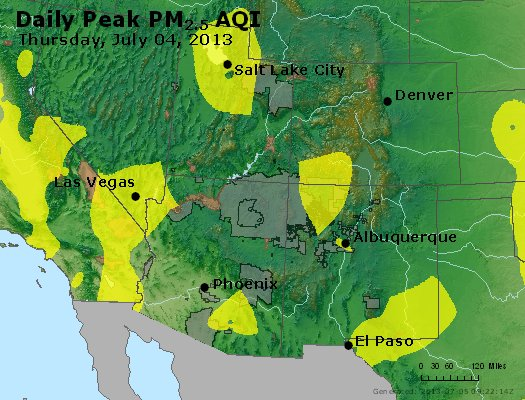 Peak Particles PM2.5 (24-hour) - https://files.airnowtech.org/airnow/2013/20130704/peak_pm25_co_ut_az_nm.jpg