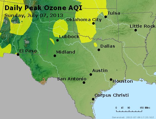 Peak Ozone (8-hour) - https://files.airnowtech.org/airnow/2013/20130707/peak_o3_tx_ok.jpg