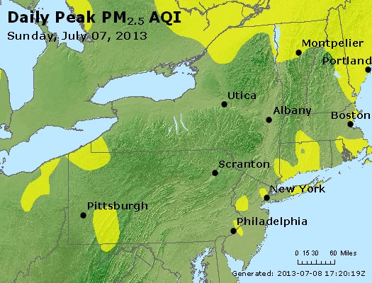 Peak Particles PM<sub>2.5</sub> (24-hour) - https://files.airnowtech.org/airnow/2013/20130707/peak_pm25_ny_pa_nj.jpg
