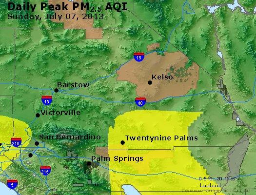 Peak Particles PM2.5 (24-hour) - https://files.airnowtech.org/airnow/2013/20130707/peak_pm25_sanbernardino_ca.jpg