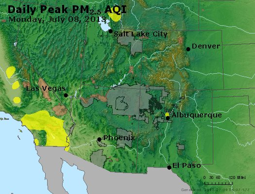 Peak Particles PM2.5 (24-hour) - https://files.airnowtech.org/airnow/2013/20130708/peak_pm25_co_ut_az_nm.jpg