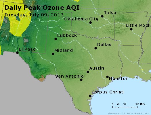Peak Ozone (8-hour) - https://files.airnowtech.org/airnow/2013/20130709/peak_o3_tx_ok.jpg
