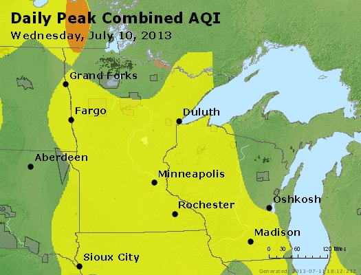 Peak AQI - https://files.airnowtech.org/airnow/2013/20130710/peak_aqi_mn_wi.jpg