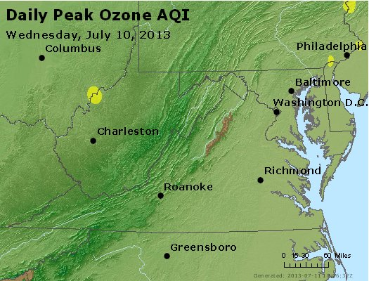 Peak Ozone (8-hour) - https://files.airnowtech.org/airnow/2013/20130710/peak_o3_va_wv_md_de_dc.jpg