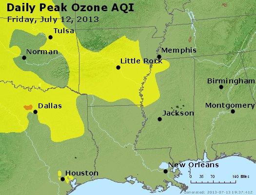 Peak Ozone (8-hour) - https://files.airnowtech.org/airnow/2013/20130712/peak_o3_ar_la_ms.jpg
