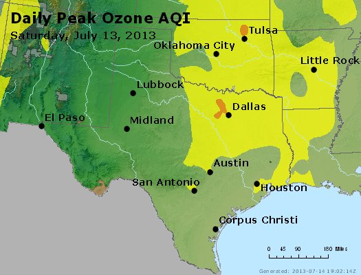 Peak Ozone (8-hour) - https://files.airnowtech.org/airnow/2013/20130713/peak_o3_tx_ok.jpg