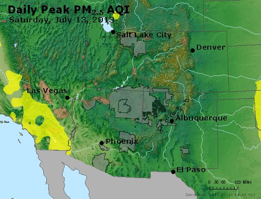 Peak Particles PM2.5 (24-hour) - https://files.airnowtech.org/airnow/2013/20130713/peak_pm25_co_ut_az_nm.jpg