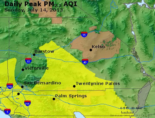 Peak Particles PM<sub>2.5</sub> (24-hour) - https://files.airnowtech.org/airnow/2013/20130714/peak_pm25_sanbernardino_ca.jpg