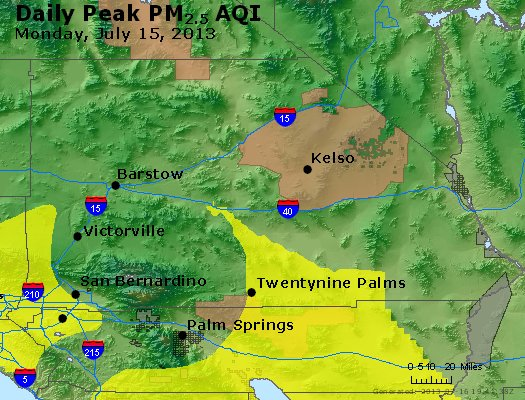 Peak Particles PM<sub>2.5</sub> (24-hour) - https://files.airnowtech.org/airnow/2013/20130715/peak_pm25_sanbernardino_ca.jpg