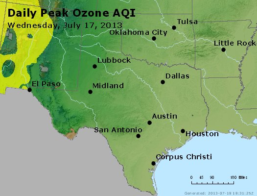 Peak Ozone (8-hour) - https://files.airnowtech.org/airnow/2013/20130717/peak_o3_tx_ok.jpg