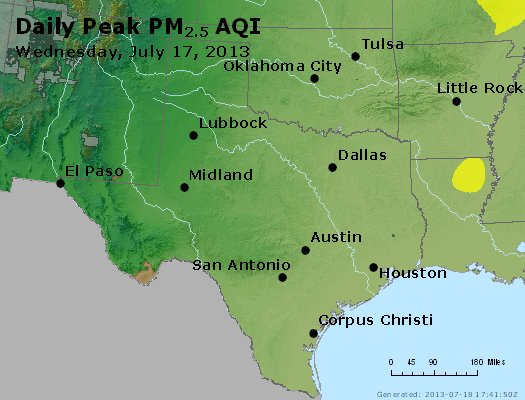 Peak Particles PM2.5 (24-hour) - https://files.airnowtech.org/airnow/2013/20130717/peak_pm25_tx_ok.jpg