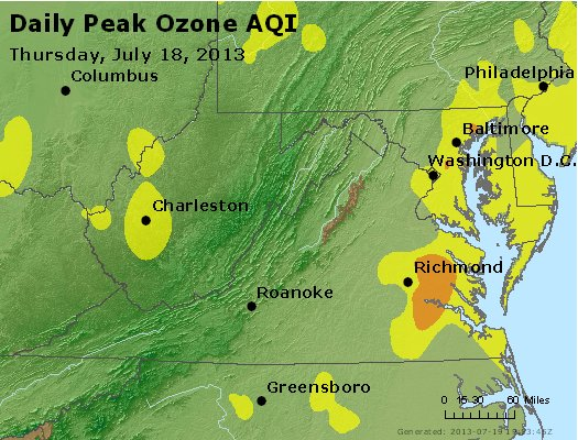 Peak Ozone (8-hour) - https://files.airnowtech.org/airnow/2013/20130718/peak_o3_va_wv_md_de_dc.jpg