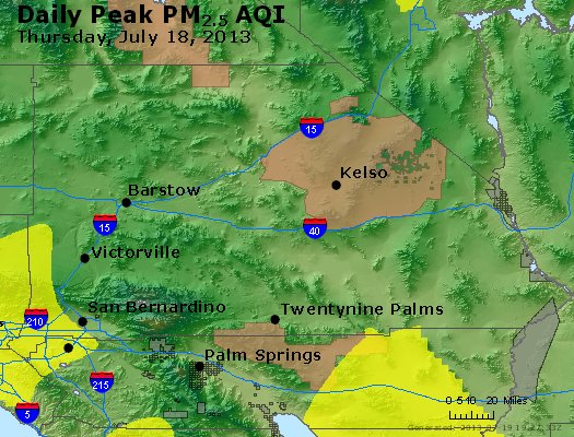 Peak Particles PM<sub>2.5</sub> (24-hour) - https://files.airnowtech.org/airnow/2013/20130718/peak_pm25_sanbernardino_ca.jpg