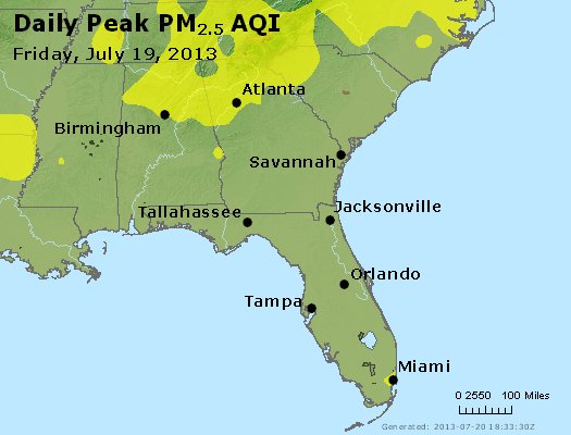 Peak Particles PM2.5 (24-hour) - https://files.airnowtech.org/airnow/2013/20130719/peak_pm25_al_ga_fl.jpg