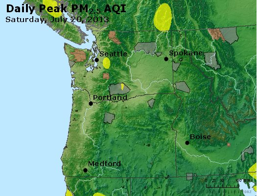 Peak Particles PM2.5 (24-hour) - https://files.airnowtech.org/airnow/2013/20130720/peak_pm25_wa_or.jpg