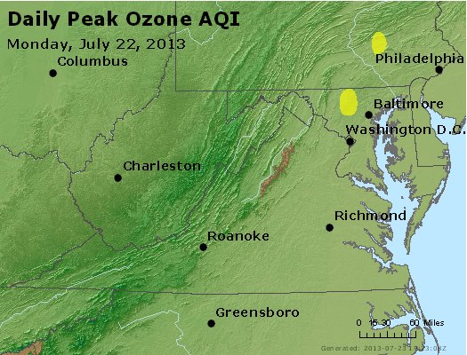 Peak Ozone (8-hour) - https://files.airnowtech.org/airnow/2013/20130722/peak_o3_va_wv_md_de_dc.jpg