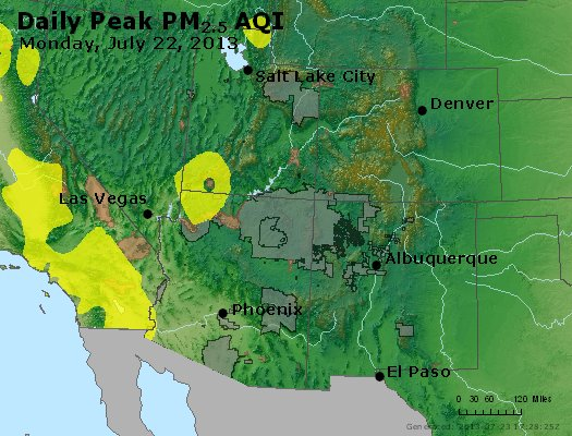 Peak Particles PM2.5 (24-hour) - https://files.airnowtech.org/airnow/2013/20130722/peak_pm25_co_ut_az_nm.jpg