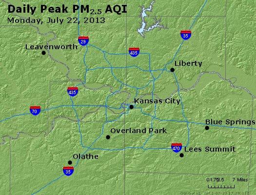 Peak Particles PM2.5 (24-hour) - https://files.airnowtech.org/airnow/2013/20130722/peak_pm25_kansascity_mo.jpg